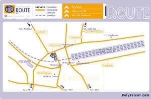 Routekaartje-illustratieKlein