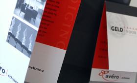 Avéro / Achmea, uitnodiging, menukaart